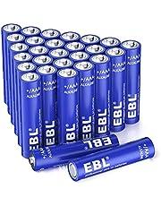 EBL Alkaline AAA batteries (28 Count) - 1.5V AAA Long-Lasting Alkaline Battery, Triple A Battery