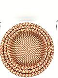 Athletes Foot Treatment Vinegar Seven One - Sedge( Lepironia articulata) Basket Natural Handmade -Set of 3 (A)