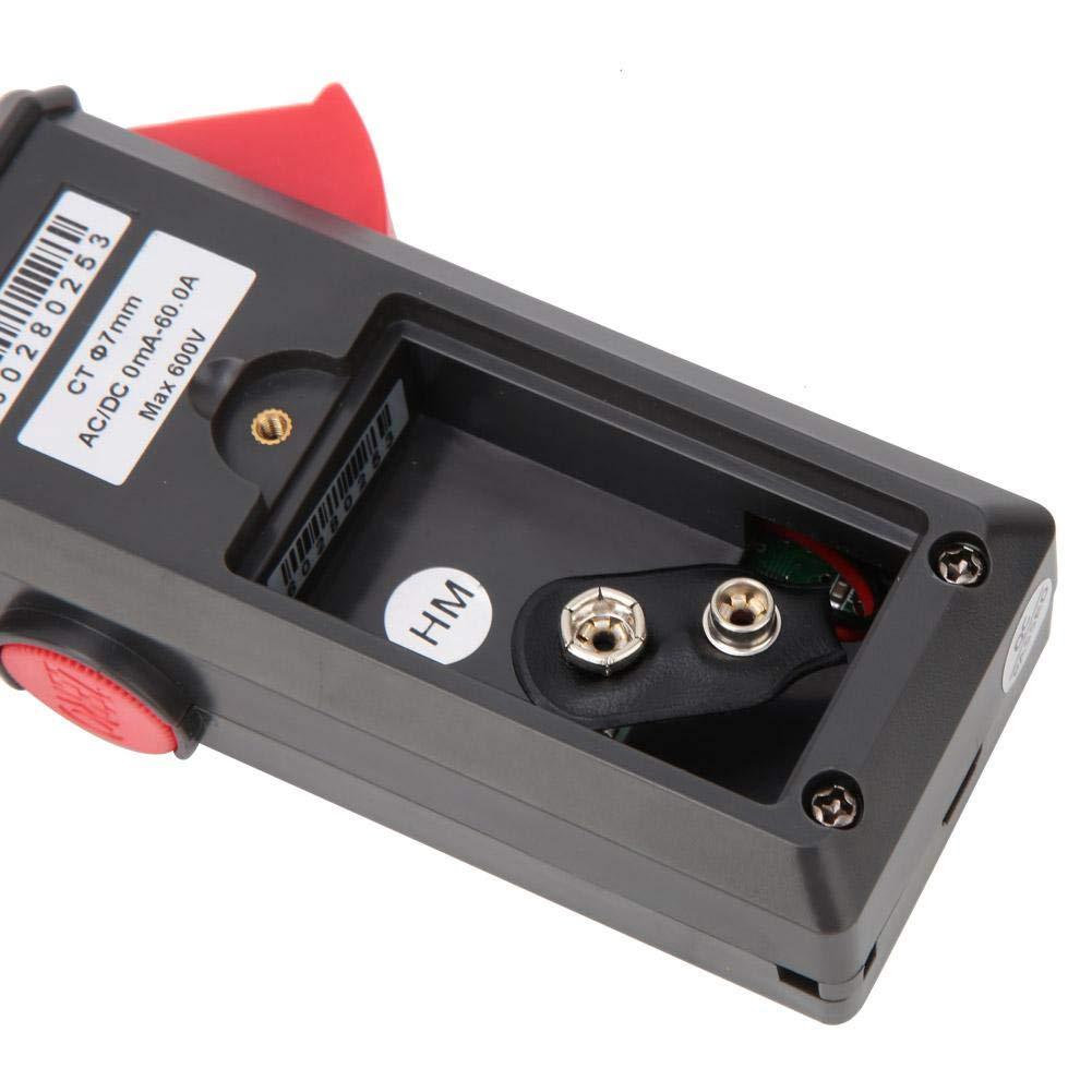Mult/ímetro digital de pinza amperim/étrica UT258A Medidor digital de pinza de corriente de fuga de alta precisi/ón Amper/ímetro AC DC