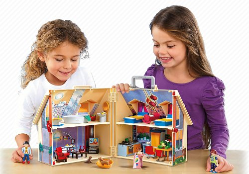 PLAYMOBIL Take Along Modern Doll House by PLAYMOBIL® (Image #3)