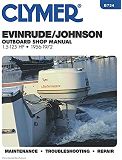 johnson evinrude outboards 1973 89 repair manual clarence w coles