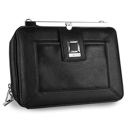 lencca-esvivina-crossbody-clutch-wallet-carrying-case-for-cell-phones-and-small-tablets-black-black