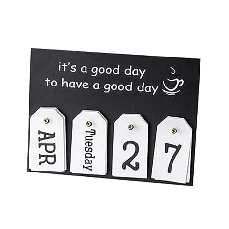2019 Mini calendario de escritorio de papel para decoración ...