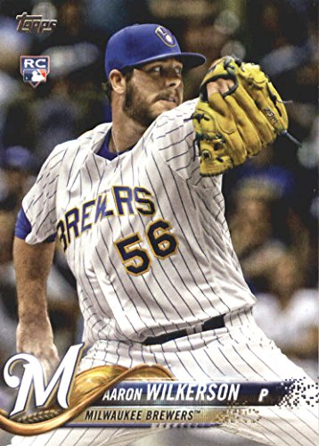 2018 Topps Baseball #378 Aaron Wilkerson RC Milwaukee Brewers by Topps