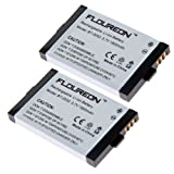 2x Floureon Li-ion Cordless Phone Batteries for Uniden Bt-0002, Office Central