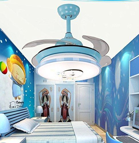 TiptonLight Blue Cute Ceiling Fans Kids