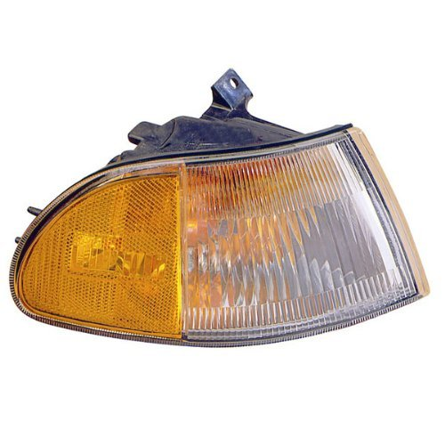 Honda Civic 4 Door Corner - 1992-1995 Honda Civic 4-Door Sedan Corner Park Light Turn Signal Marker Lamp Right Passenger Side (1992 92 1993 93 1994 94 1995 95)