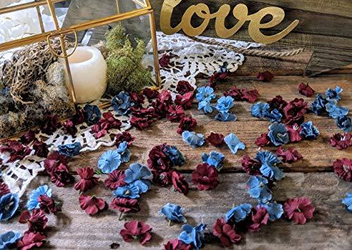 Wedding Table Decorations for Reception, Flower Confetti ()