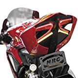 NRC Tail Tidy Fender Eliminator Integrated Flush LED Kit for Ducati Panigale 1199 899 S R Tricolore Corse by New Rage Cycles