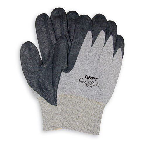 QRP PDWS-Small Qualakote ESD Safe Wave Solder Glove (Low Heat), Small, 12 Pairs/Pkg