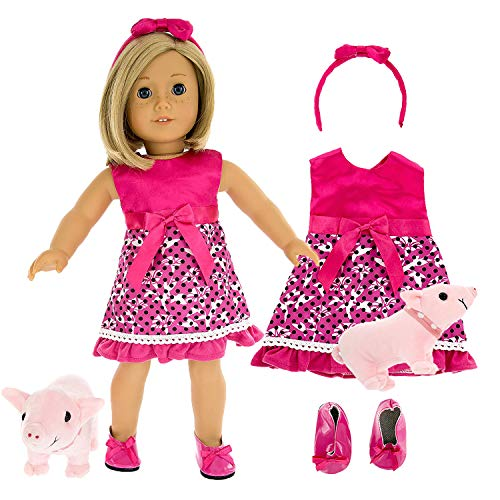 Pet Pig Walker Outfit for American Girl Dolls & 18