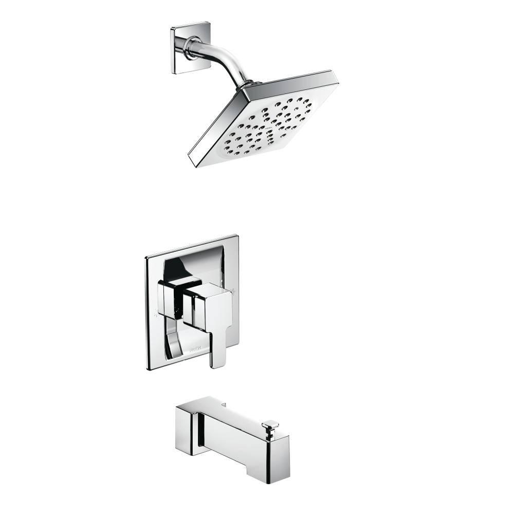 Moen TS3713-3520 90-Degree Moentrol Tub/Shower and Shower Trim Kit with Valve, Chrome