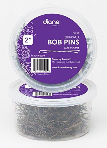 "Diane 2"" Bobby Pins, Black, 300 Count, D452"