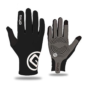 Windproof Waterproof Cycling Full Finger Gloves Touch Screen Bike Racing  D!