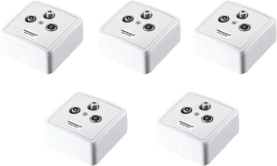 Premiumx 5x Px3 Dc 3 Fach Durchgangsdose Sat Durchgangs Elektronik