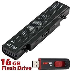 Battpit Bateria de repuesto para portátiles Samsung R458 (4400 mah) Con memoria USB de 16GB GRATUITA