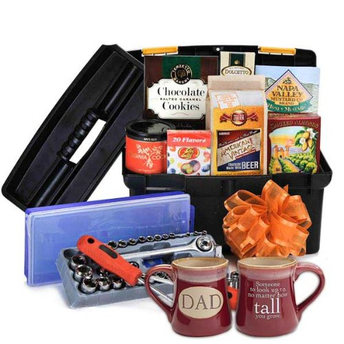 Mechanic Lover's Toolbox For Dad With Mug (FD)