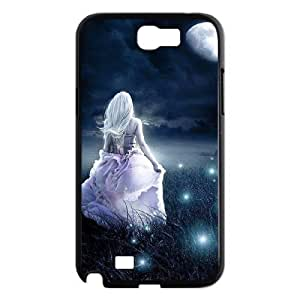 ALICASE Diy Design Back Case Night Fairy for Samsung Galaxy Note 2 N7100 [Pattern-1]