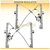 02 chevy avalanche window motor - WIN-2X New 2pcs Front Driver & Passenger Side Power Window Regulators With Motor Assembly Fit Chevy/GMC/Cadillac Silverado Sierra Classic Body Suburban Avalanche Tahoe Yukon XL Escalade EXT ESV