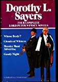 Download Four Complete Lord Peter Wimsey Novels: Whose Body? / Clouds of Witness / Murder Must Advertise / Gaudy Night in PDF ePUB Free Online