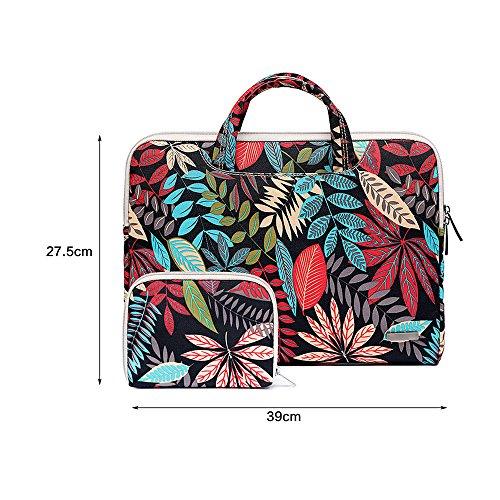 Jia HU 1Exotic Laptop Aktentasche Handtasche Messenger Tasche Sammelmappe Organizer Travel Geschenk rose gelb X82AJKD0