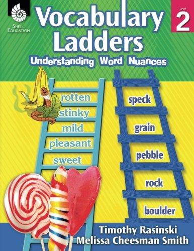 Vocabulary Ladders - Word Ladders Rasinski