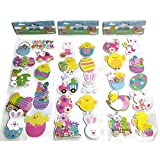 Happy Easter Pop-up Stickers Embellishments 10 Pieces per pack (Bundle of 3 packs)