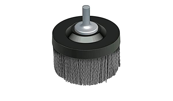 1-3//8 Trim Length Silicon Carbide 4500 Maximum RPM 2-1//2 Diameter 0.045 x 0.090 Fill Diameter Osborn 00047260SP UNI-LOC Abrasive Disc Brush with Quick Change 120 Grit Size Rectangular