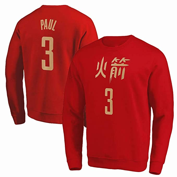 KSITH Camiseta De Manga Larga De La NBA Rocket Harden # 13 ...