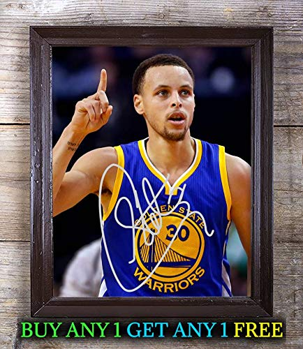 (Stephen Curry American Basketball Player Cast Autographed 8x10 Photo Reprint #68 Special Unique Gifts Ideas Him Her Best Friends Birthday Christmas Xmas Valentines Anniversary Fathers Mothers Day)