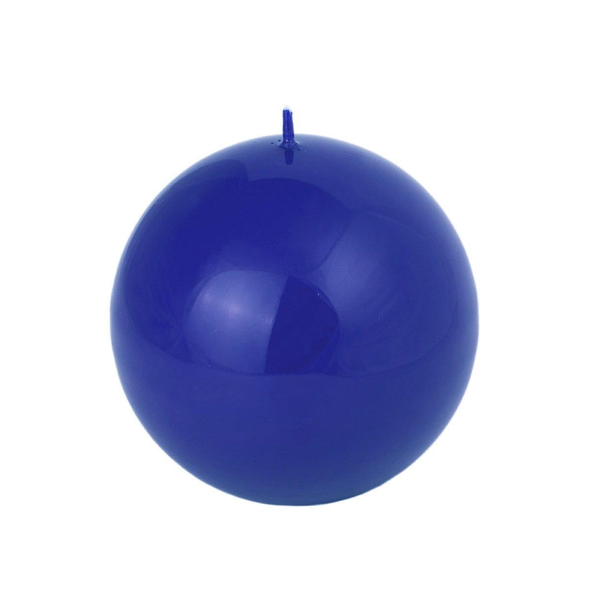 Roi Bougies à boule bleue 4tailles au choix boule bleu brillant, bleu roi, Komplettset alle 4 Größen Komplettset alle 4 Größen Adpal Kerzenmanufaktur