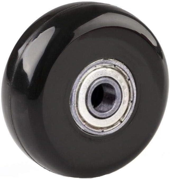 18mm Diam/ètre int/érieur 8mm ORO Valise Roues de Rechange 1 Paire de roulettes de Rechange pour Bagages Ext/érieur Inline Skate Ou Roller 43