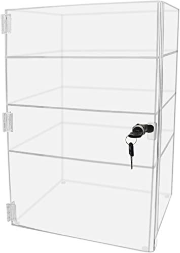 LuciteDisplay Acrylic Lucite Countertop Display Case Showcase Box Cabinet 12 X 9 1 2 X 19