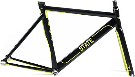 State Bicycle Undefeated - Cuadro de Bicicleta, Color Negro, Talla ...