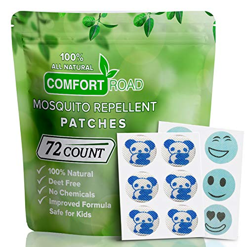 Mosquito Repellent Patch 72 Count Keeps Insects and Bugs Far Away