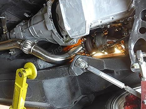cxracing Turbo Downpipe para Nissan Datsun 240Z 260Z 280Z SR20DET SR20 Swap: Amazon.es: Coche y moto
