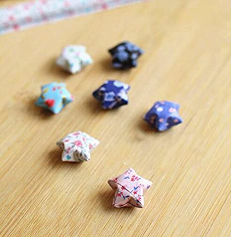 1 Maggicoo 400 Sheets Lovely Cute Star Folding Paper Lucky Wish Star Origami Paper