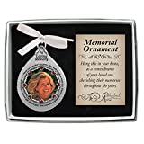 Cathedral Art Those We Love Dont Go Away Tear-Shaped Photo Frame Ornament