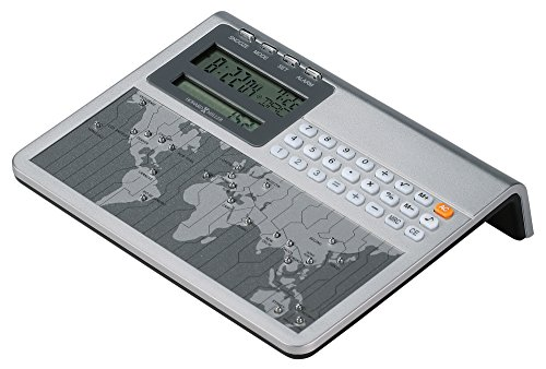 - Howard Miller Atlas World Clock and Calculator