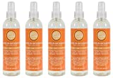 All Natural Head Lice Prevention Head Lice Leave in Detangler Gentle Enough for Children for Adults and Kids, by Gotcha Covered 5 Value Pack