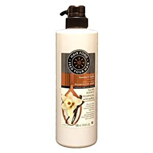 Hair Food Sulfate Free Hair Milk Cleansing Conditioner and Shampoo Infused with Jasmine & Vanilla Fragrance (Shampoo)