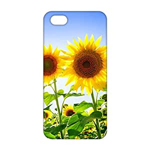 3D Case Cover Cute Sunflower Phone Case for iPhone 5s
