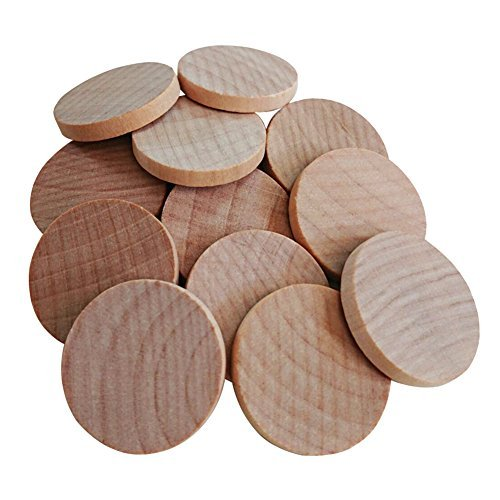AxeSickle 1 inches Natural Schima superba unfinished round wood,These round wood coins The limitations are - Wood Unfinished Small