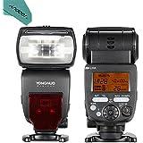 YONGNUO YN660 GN66 2.4G Wireless Master Slave Speedlite Flash for Nikon Canon DSLR Camera Compatible with YN560-TX/RF-603/RF-602/RF 603II/YN560 IV/YN560 III/RF605 (upgraded version of YN560-IV) with Andoer Cleaning Cloth