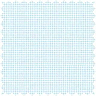 product image for SheetWorld 100% Cotton Jersey Fabric by The Yard, Blue Gingham, 36 x 60
