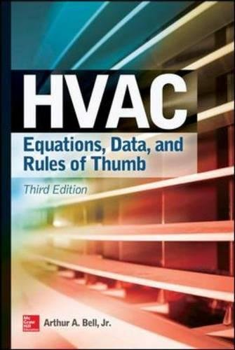 HVAC Equations, Data, and Rules of Thumb, Third Edition (Mechanical Engineering)