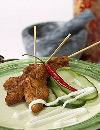 Tandoori Chicken Satay - Gourmet Frozen Chicken Appetizers - Gluten-Free (Set of 8 Trays) by Appetizersusa