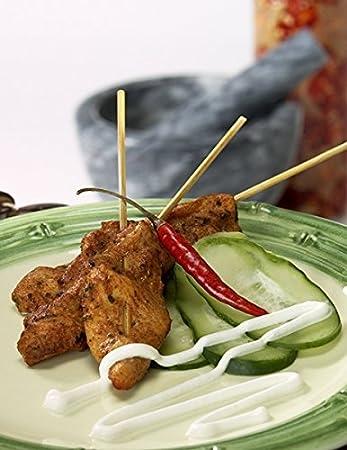 Order Wholesale Tandoori Chicken Satay - Gourmet Frozen Chicken Appetizers  - Gluten-Free (25 Piece Tray)