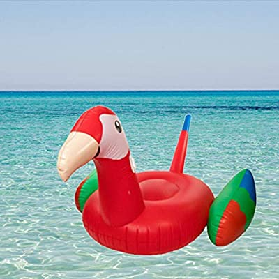 LCYCN Pool Floats,Parrot Model Inflatable Ride-ons Pool Rafts - Grown-Up Toys Kids' Swim Floats for Beach, waterside by LCYCN
