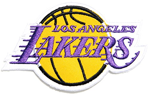 6e08741aff665 LOS ANGELES LAKERS Team Basketball NBA Logo Sign Symbol Patch Iron ...